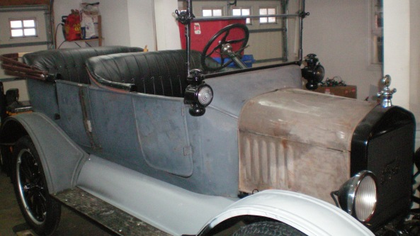 1919 Model T - further progress 001