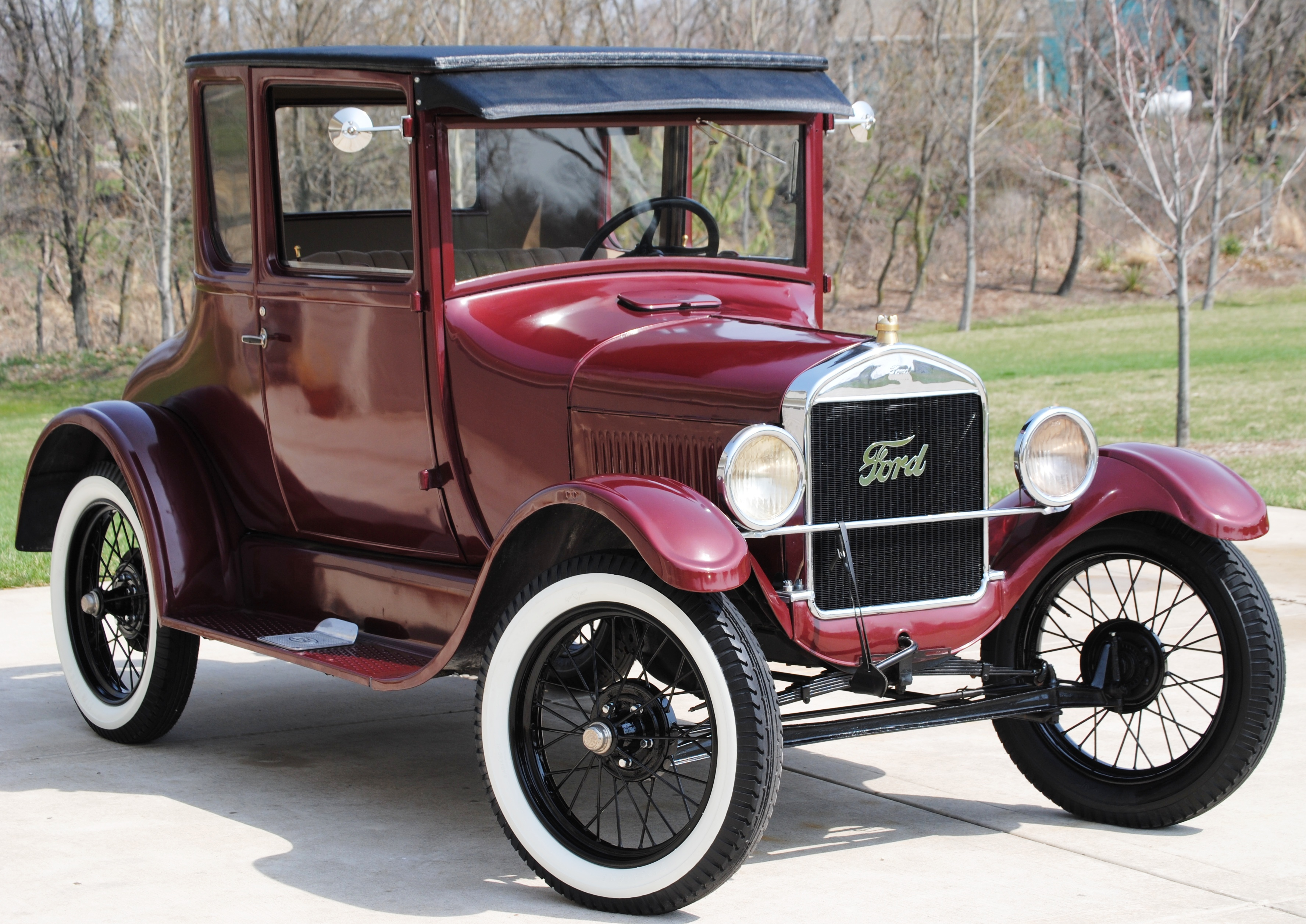 Model T Car: 1926 Model T Coupe – 'Pinky'