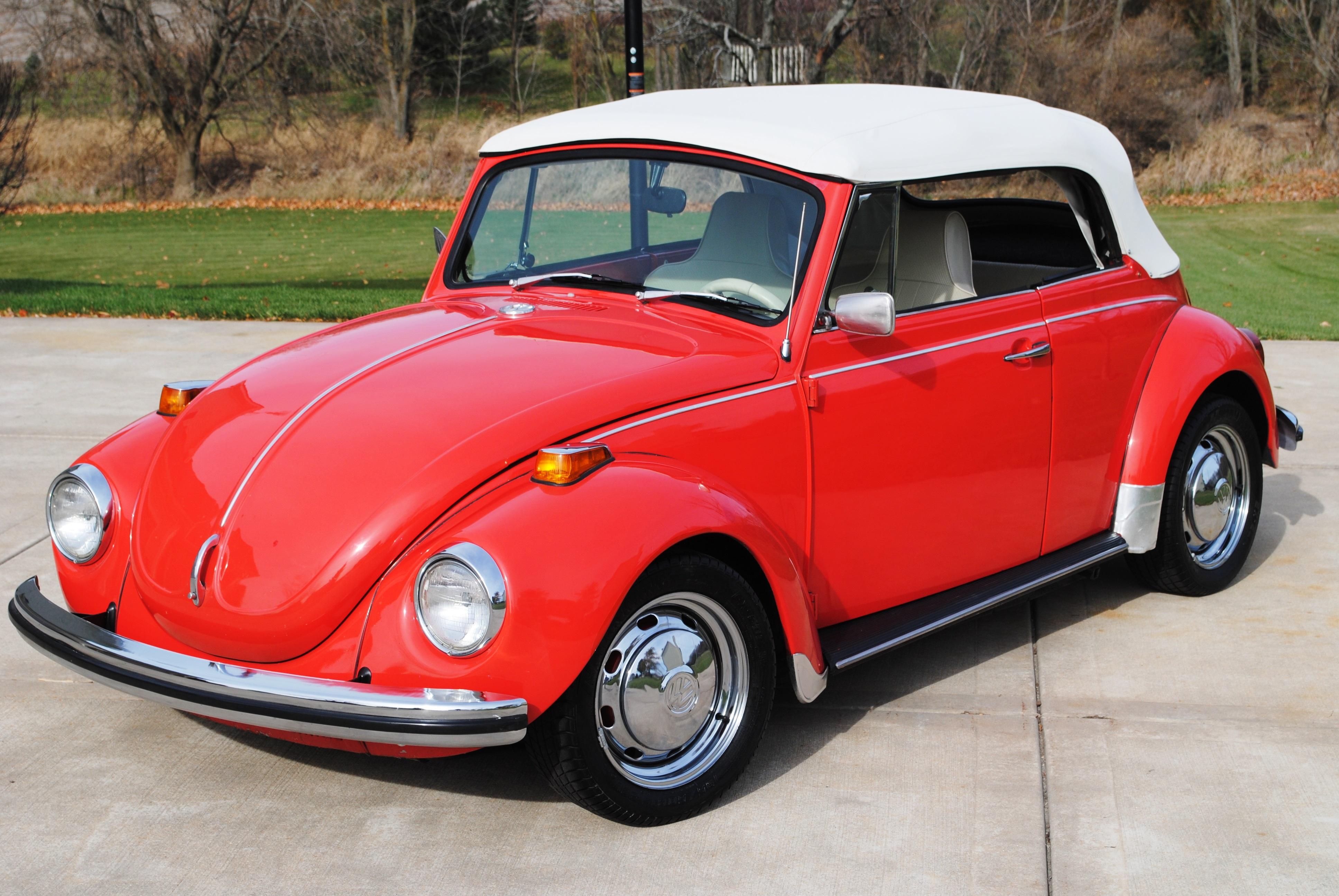 volkswagen super beetle convertible sold august  oldmotorsguycom
