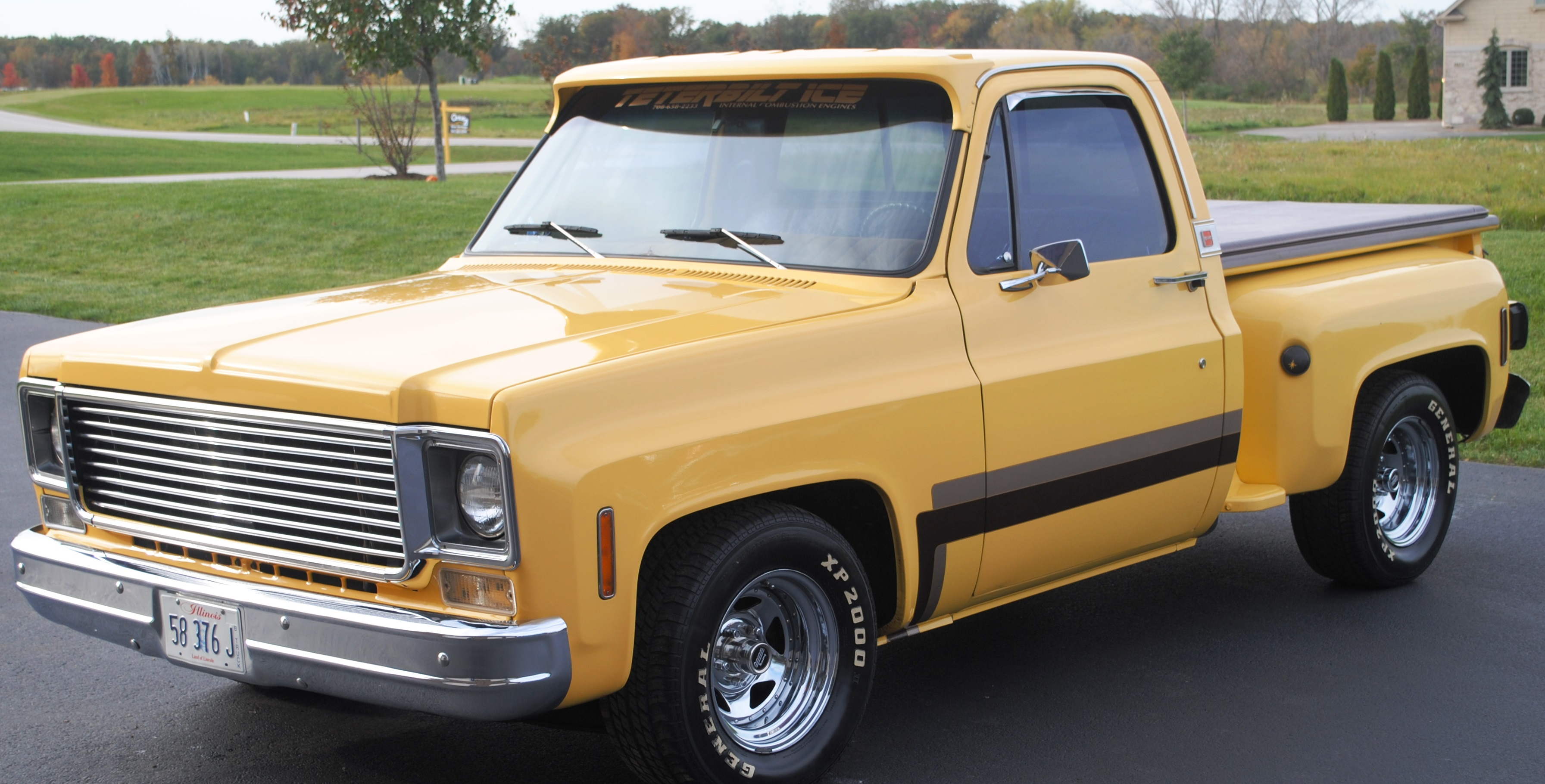 1977 GMC Sierra pick up truck – SOLD | OLDMOTORSGUY.COM