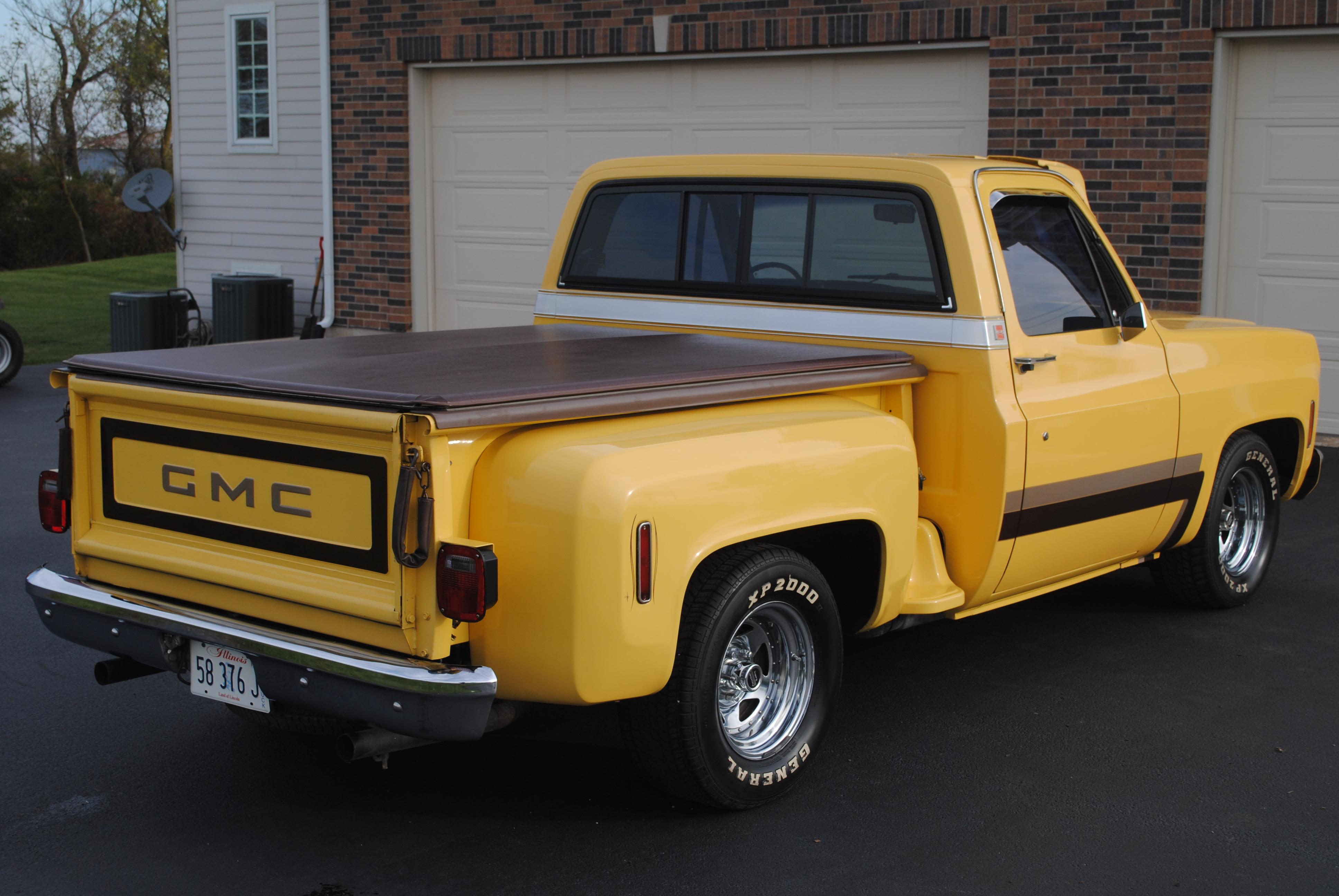 1977 GMC Sierra pick up truck – SOLD | OLDMOTORSGUY.COM