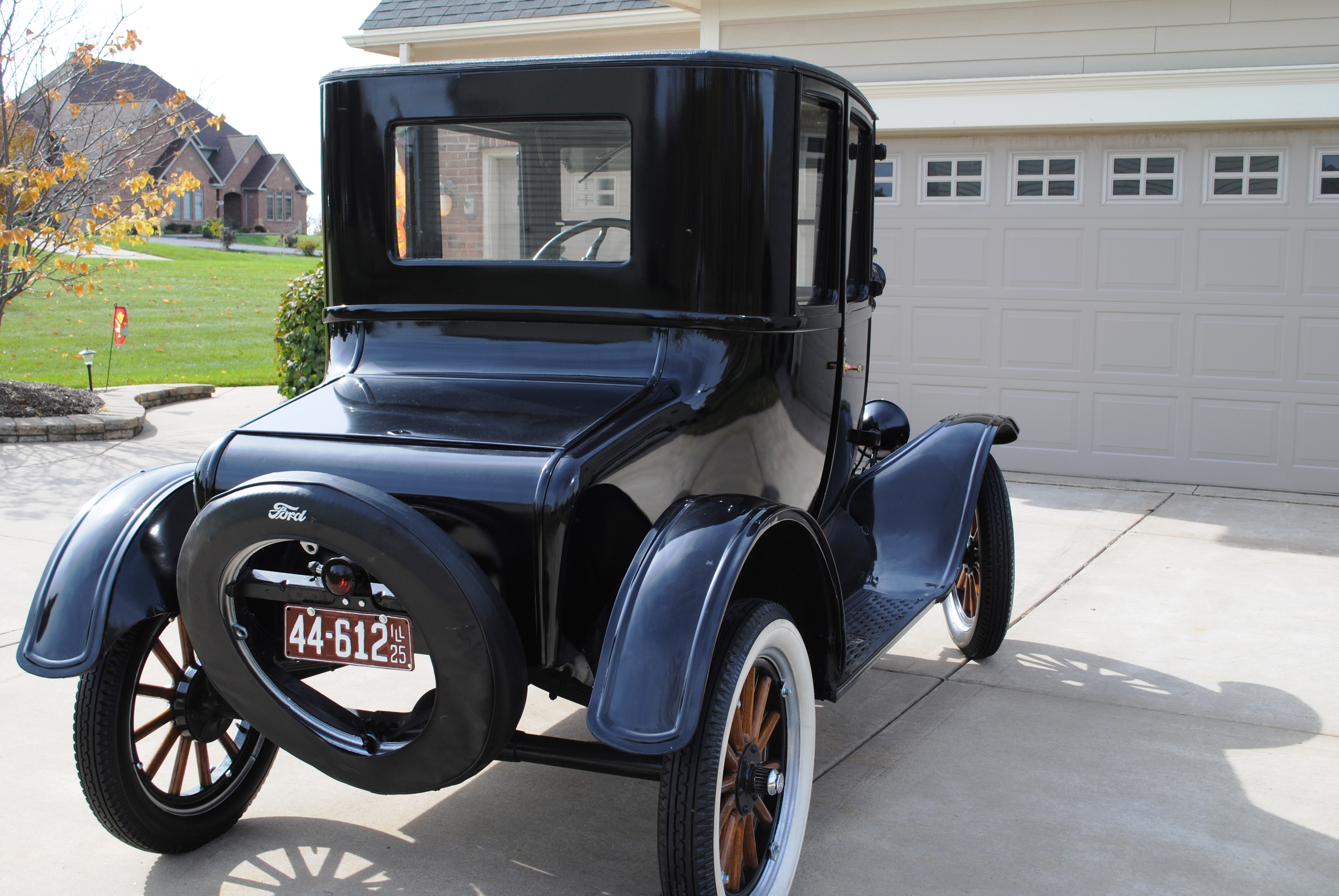 1925 Ford Model T Coupe Sold Oldmotorsguy Com