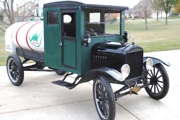 1924 ford model tt  u2013 one ton tanker truck  u2013 sold