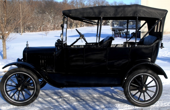 1917 Ford Model T Touring - completed Jan 2015 003