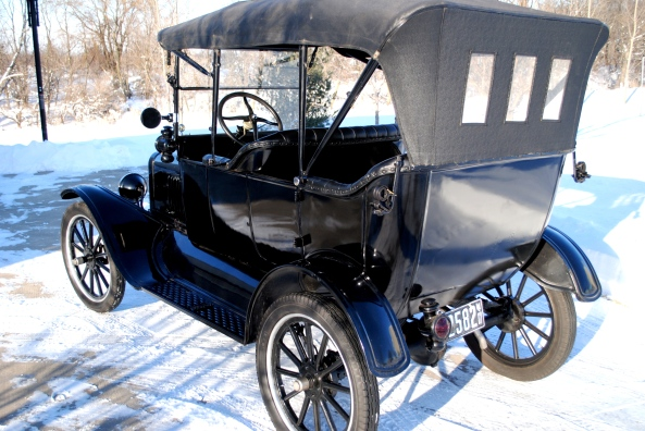1917 Ford Model T Touring - completed Jan 2015 004