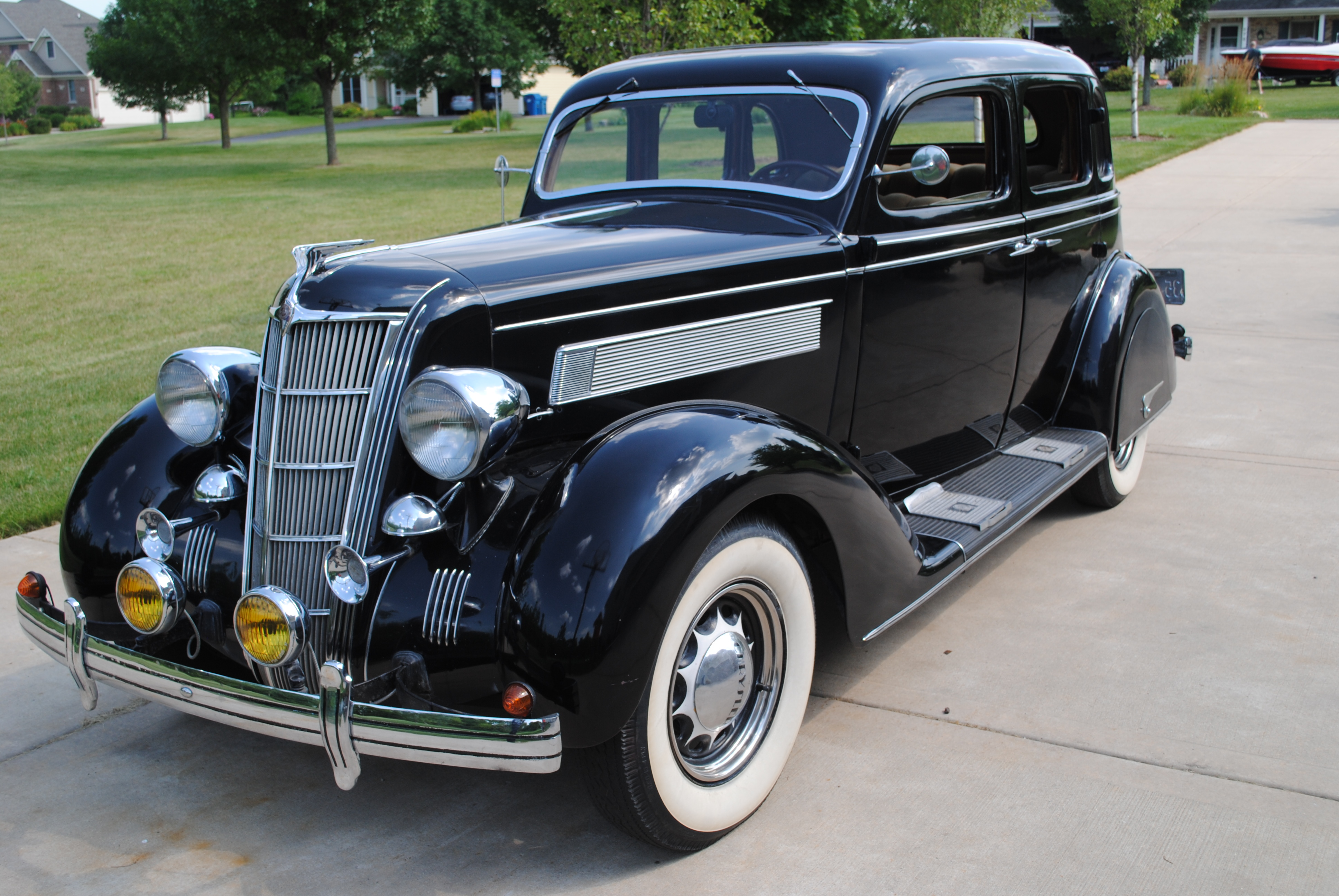 1935 chrysler airstream touring sedan sold oldmotorsguy com. Black Bedroom Furniture Sets. Home Design Ideas