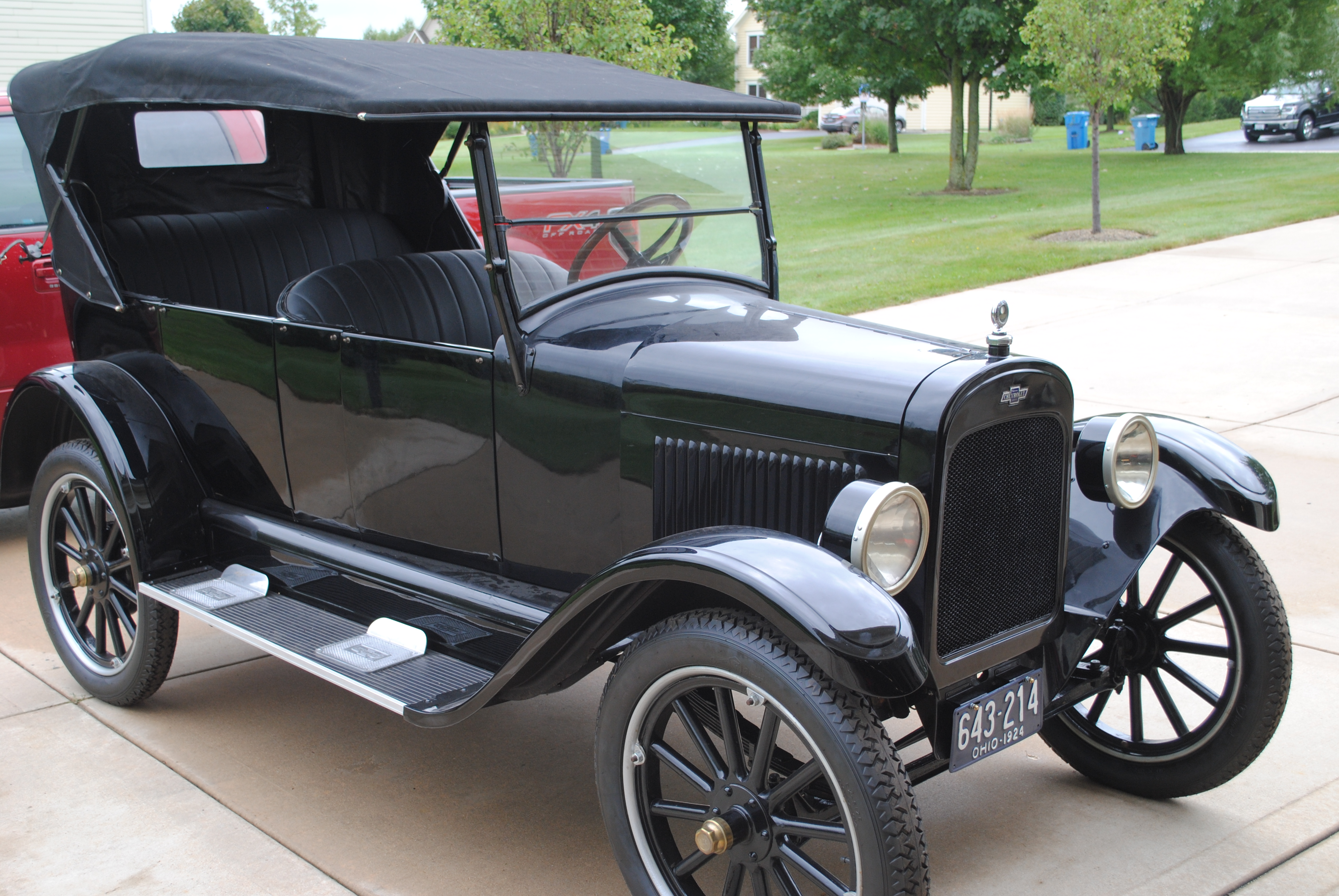 Superior Motors Menu >> 1924 Chevrolet Superior – sold | OLDMOTORSGUY.COM